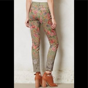 Anthropologie  Pilcro Stet Slim jeans 27